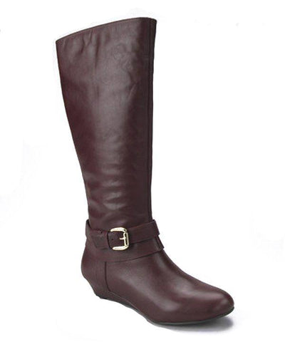 Me Too Capri Women's Brown Leather Boots SZ 6