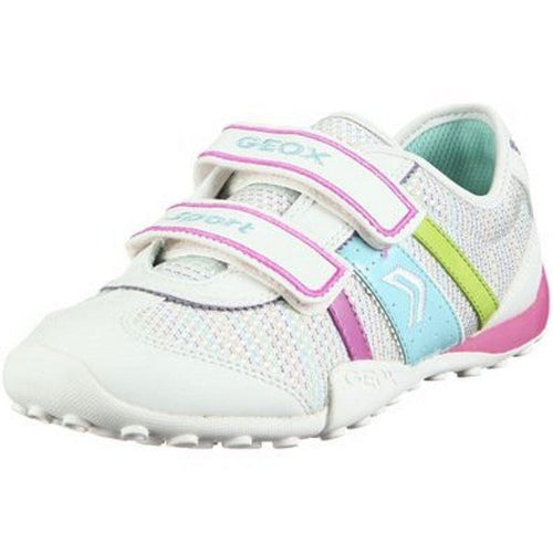 Goex Jr. Snake Girls White Pink Blue Sneakers
