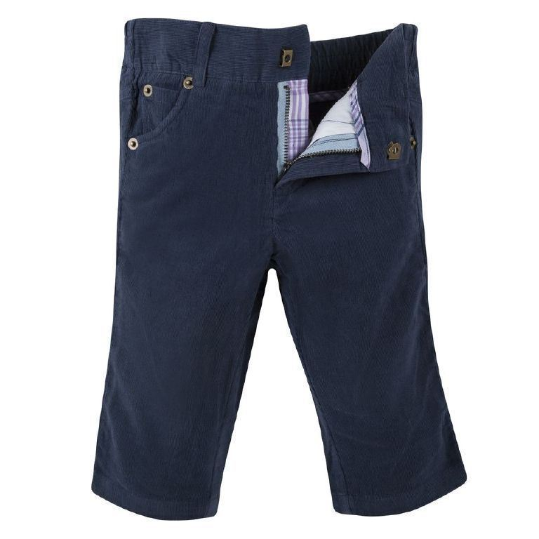 Andy & Evan Boys Blue Corduroy Pants SZ 5 Toddler