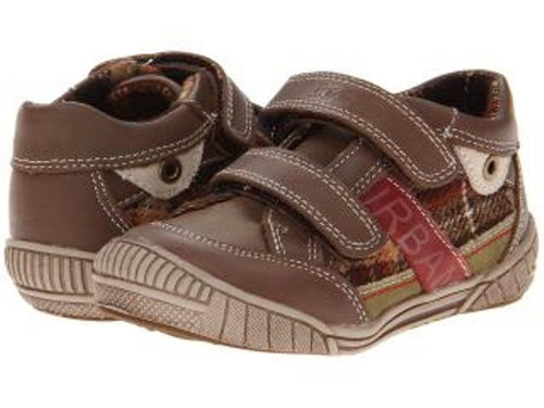 Beeko Noah Boys Brown Leather Shoes