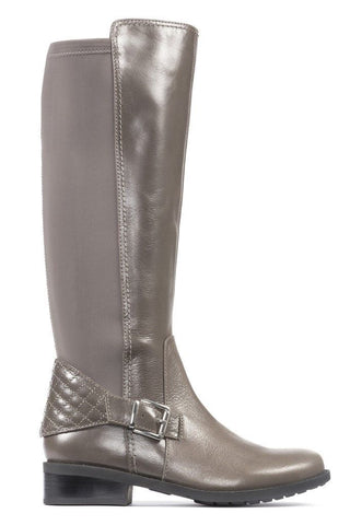 Me Too Dallas Women's Taupe Leather Stretch Boots