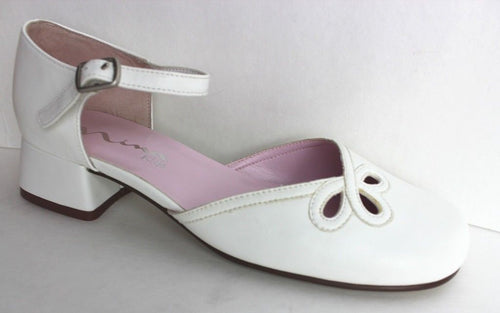 Nina Trina Girls White Dress Shoes SZ 4.5 M (Big Kid)