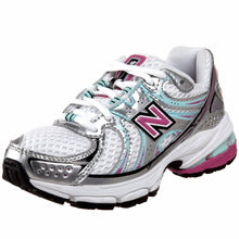 New Balance KJ760 Girls Leather Running Shoes SZ 13.5 Wide (Little Kid)