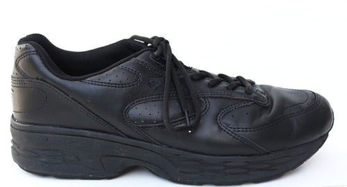 Spira Men's  Black Leather Orthopedic Walking Shoes SZ 11