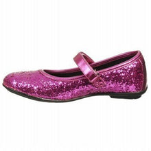 Lelli Kelly Adele Girls Fucsia Pink Glitter Mary Jane Shoes
