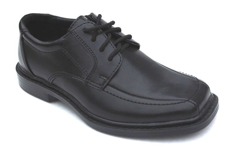 Willits Yale Boys Black Lace Dress Shoes Size 13 M (Little Kid)