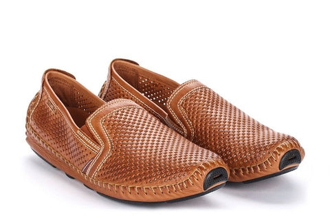 Pikolinos Jerez Men's Brandy Leather Shoes SIze 41 EU 7.5-8 US