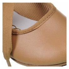 Dance Class T601 Girls Carmel Leather Tap Shoes