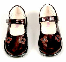 Mobility Lil-Hana Girls Brown Leather Mary Jane Shoes SZ 7