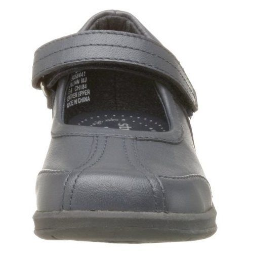 Stride Rite Jillian Girls Navy Leather Mary Jane Shoes