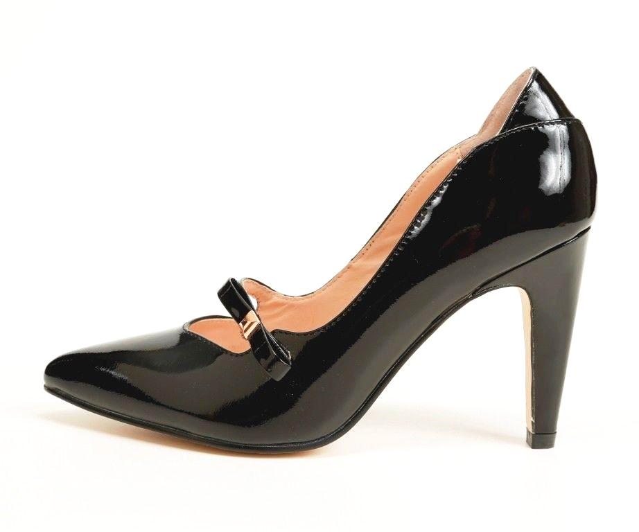 Sacha London Noemi Women's Black Patent Leather Pump