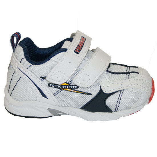 Tsukihoshi Sora Boys White Blue Athletic Shoes Size 5.5 (Infant)