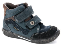 Ecco Mimic Navy Boys Gortex Waterproof Leather Boots SZ 5 (Infants)