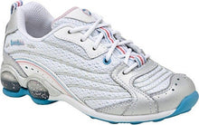 STRIDE RITE Sport Girls Leather White Blue Sneakers  New w Defect  Size 10.5 Wide