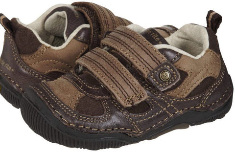 Stride Rite Woody Infant Boys Brown Leather Sneakers
