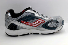Saucony Baby Cohesion Gray Red Running Shoes Size 5.5 Wide (Infants)