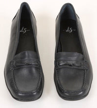 LifeStride Dory Women's Black Leather Loafers