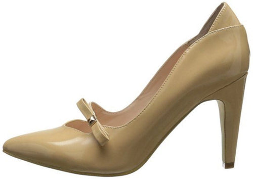 Sacha London Noemi Women's Nude Patent Leather Pumps