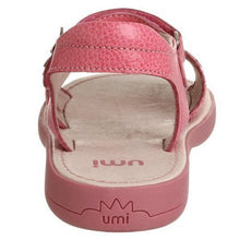 Umi Camellia Girls Pink Leather Sandals Size 28 EU 10.5 US (Toddler)