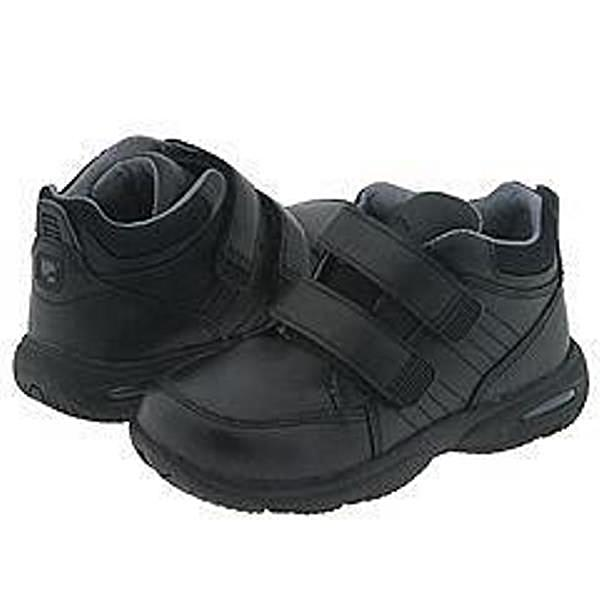Stride Rite Dusin Boys Black Leather Dress School Shoes Size 9.5