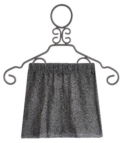 Hannah Banana Girls Designer Grey Mini Skirt