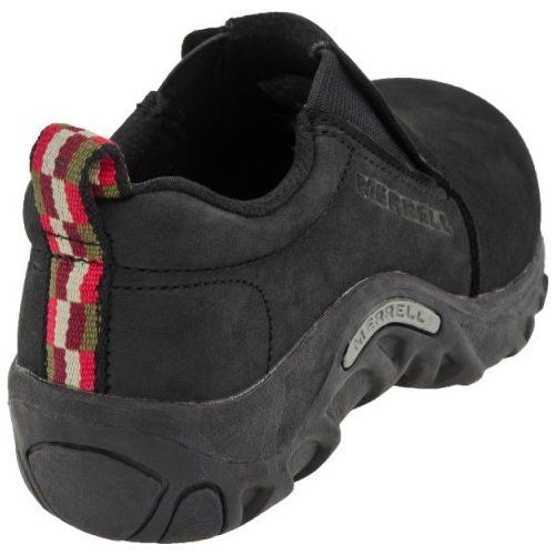 Merrell Jungle Moc Nubuck Black School Shoes Size 10 (Little Kid)