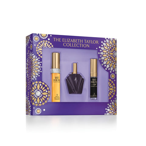 Elizabeth Taylor Fragrance Gift Set Collection for Women, 3 piece