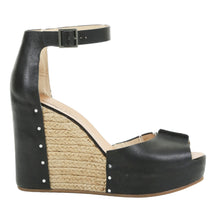 SEE BY CHLOÉ Leather Ankle Strap Wedge Sandals SZ 38.5 | 8