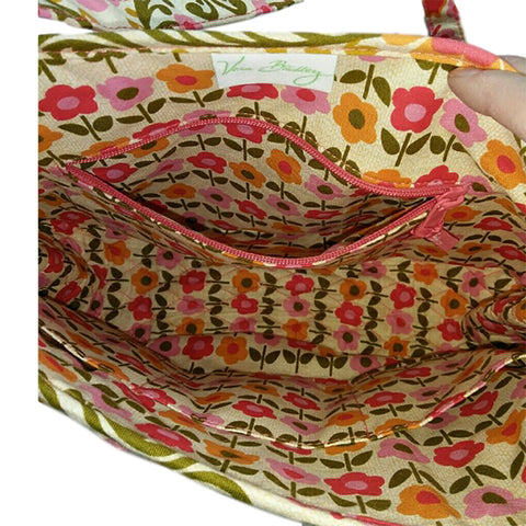 Vera Bradley Saddle Up in Retired Folkloric Print