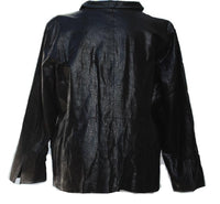 Bradley Bayou Croco Embossed Leather Blazer Jacket