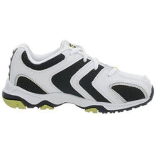Stride Rite Asteroid Boys Size 12 White Navy & Lime Leather Sneakers