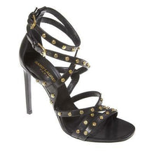 Black Studded Jerry Gladiator Sandal Pumps Size 40 | 9.5