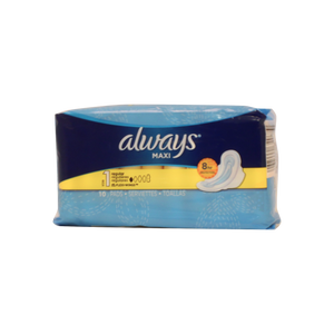 Always Maxi Pads 10 Count