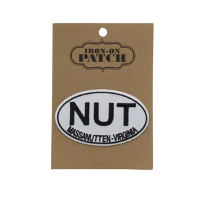 Massanutten Souvenir Classic NUT Logo Iron On Pouch