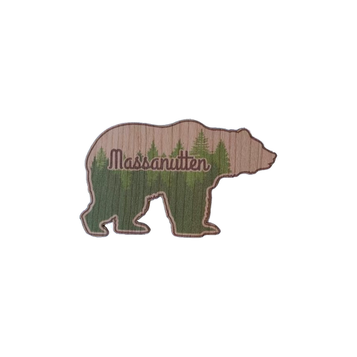 Wood Stickers Bear