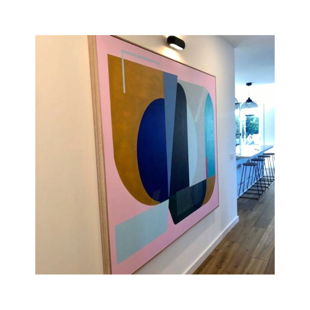 Large Geometric Paintings