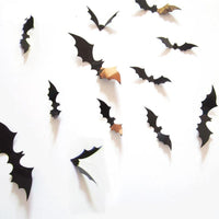 3D Bat Wall Decals