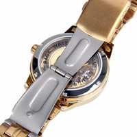 The Alchemist: Luxury Men's Skeleton Watch