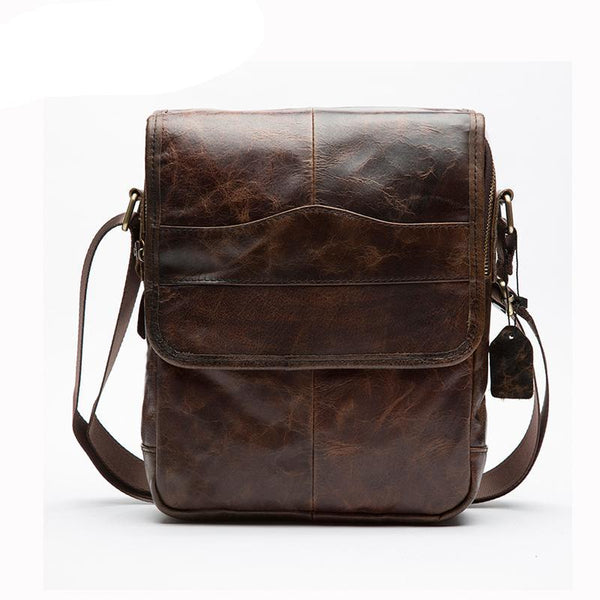 """Lusty"" Leather Crossbody Bag"