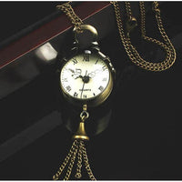 """Vivian"" Vintage Pocket Watch Necklace"