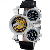 The Time Traveler:  Multi-face Steampunk watch