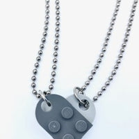 Valentine Heart Necklace- A little piece of my heart for you