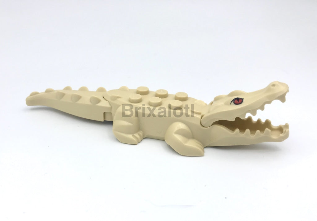 Alligator / Crocodile -Tan Animal