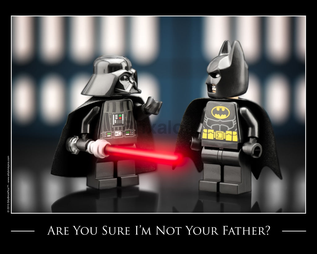 Are You Sure I Am Not Your Father Toy Photography Art Print 8X10 Art