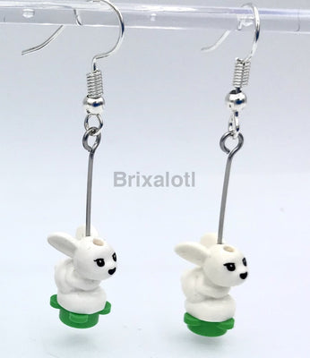 Baby Bunny Dangler Earrings