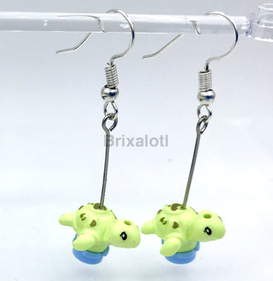 Baby Turtle Dangler Earrings