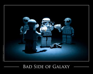 Bad Side Of The Galaxy Toy Photography Art Print 8X10 Art