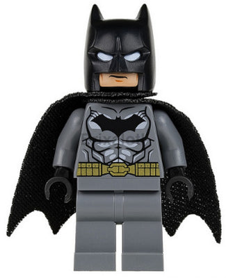 Batman - Dark Bluish Gray Suit Muscle Pattern Minifigure
