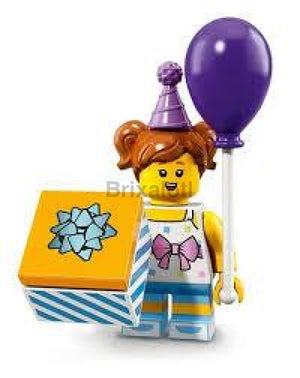 Birthday Party Girl Minifigure
