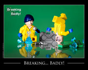 Breaking...badly! Toy Photography Art Print 8X10 Art